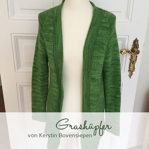 Grashüpfer Strickjacke